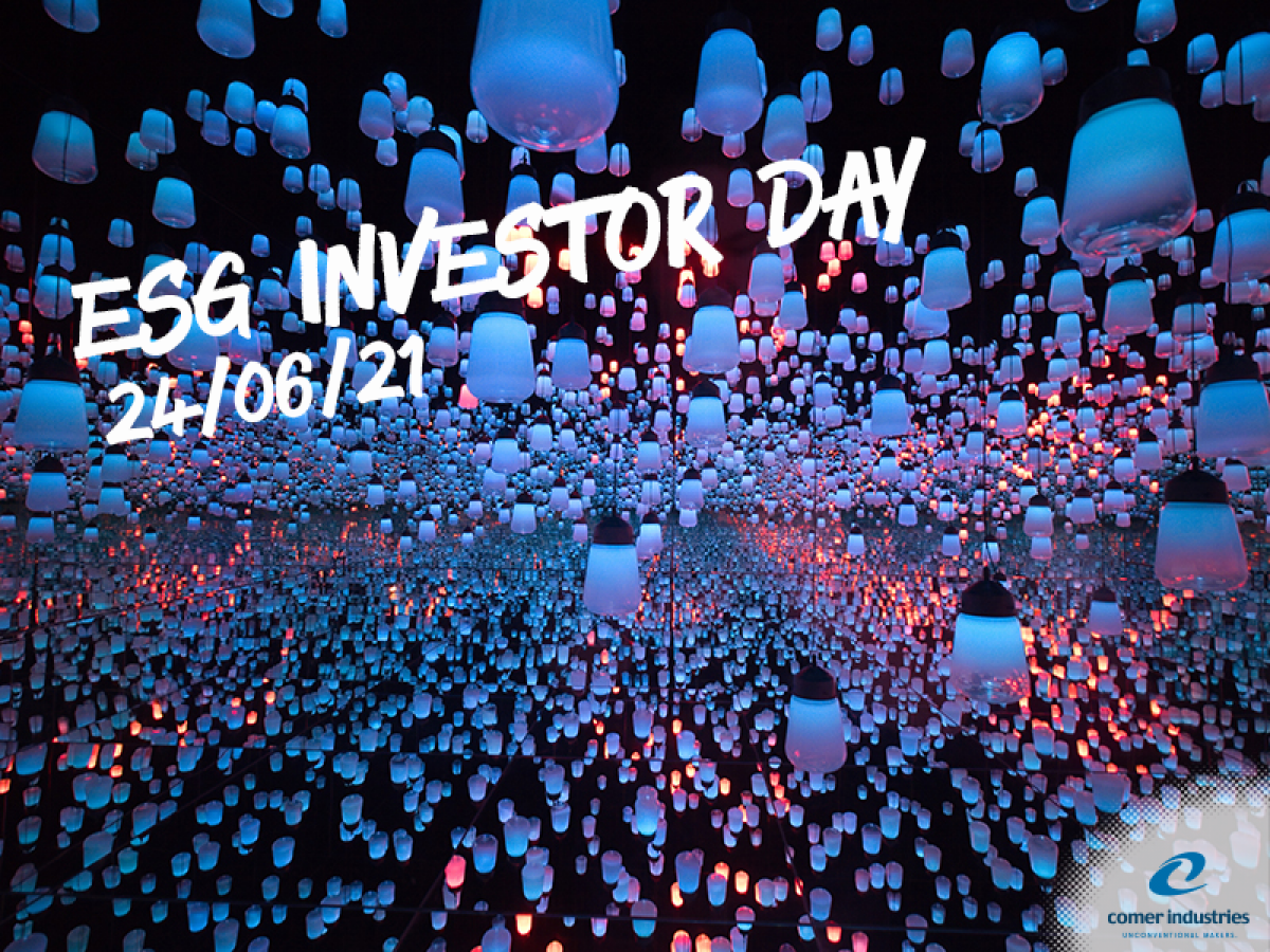 Comer Industries all'ESG Investor Day